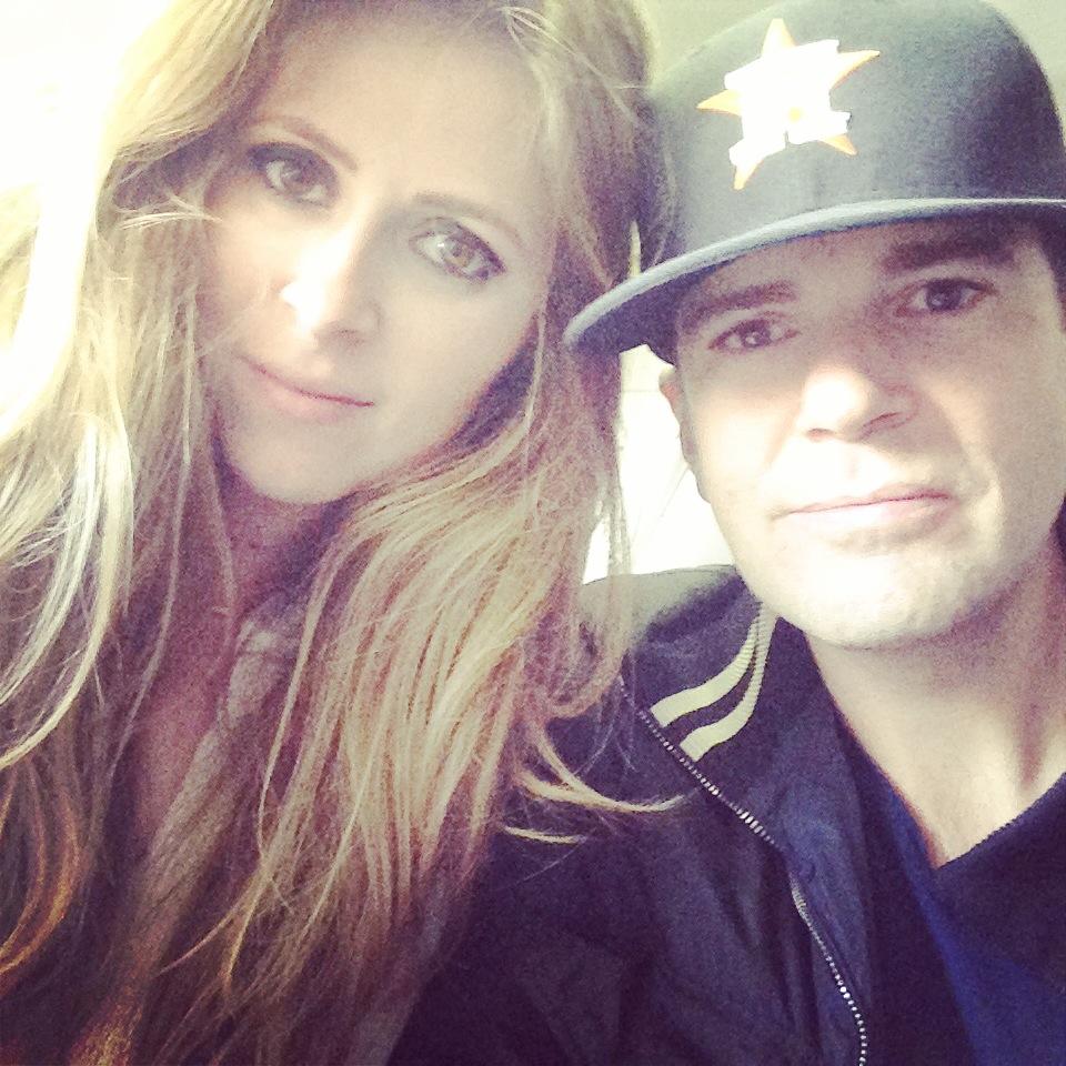 Selfie at Paris Airport CDG
